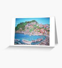 Parga, Greece Greeting Card