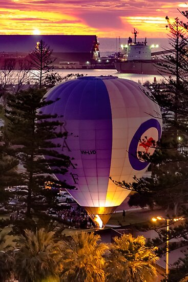 Hot Air Balloon by Colin Sherman