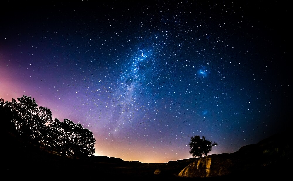 Milky Way Arch by Russell Charters