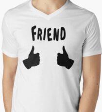 The Inbetweeners - Friend - Thumbs Up Men's V-Neck T-Shirt