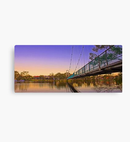 Northam Suspension Bridge - Western Australia  Canvas Print