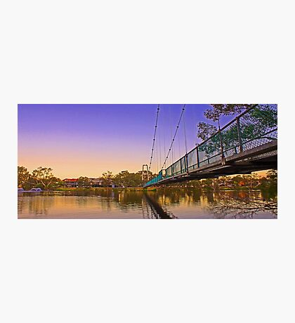 Northam Suspension Bridge - Western Australia  Photographic Print