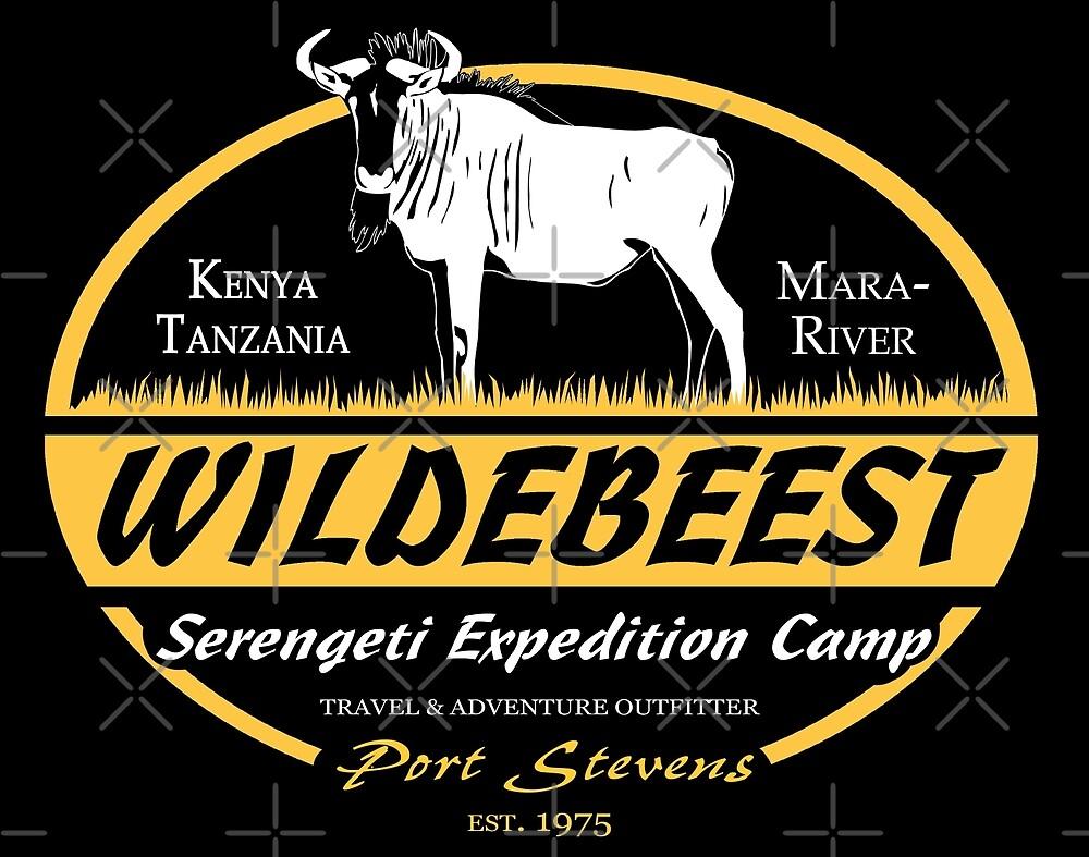 Serengeti Wildebeest by Port-Stevens