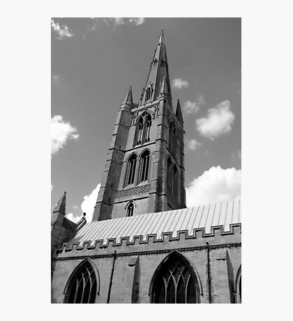 The Spire, St.Wulfram's Church Church, Grantham, England Photographic Print