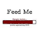 Feed Me - Hangry Meter (scribble) by Gluttoinc