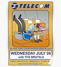 Telecom July Wednesday Residency at The Tote 2006: July 26 Poster