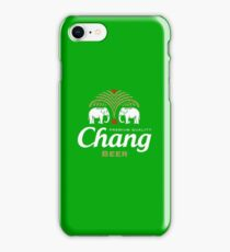 Chang Beer Thailand iPhone Case/Skin