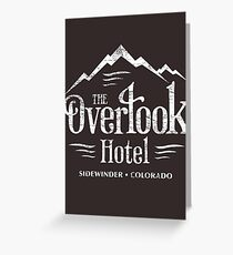 The Overlook Hotel T-Shirt (worn look) Greeting Card