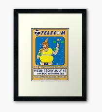 Telecom July Wednesday Residency at The Tote 2006: July 19  Framed Print