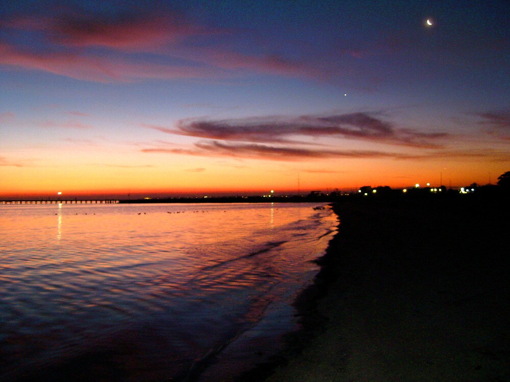 Cosmic Blessing - Sunset at Mordialloc by ADZA2