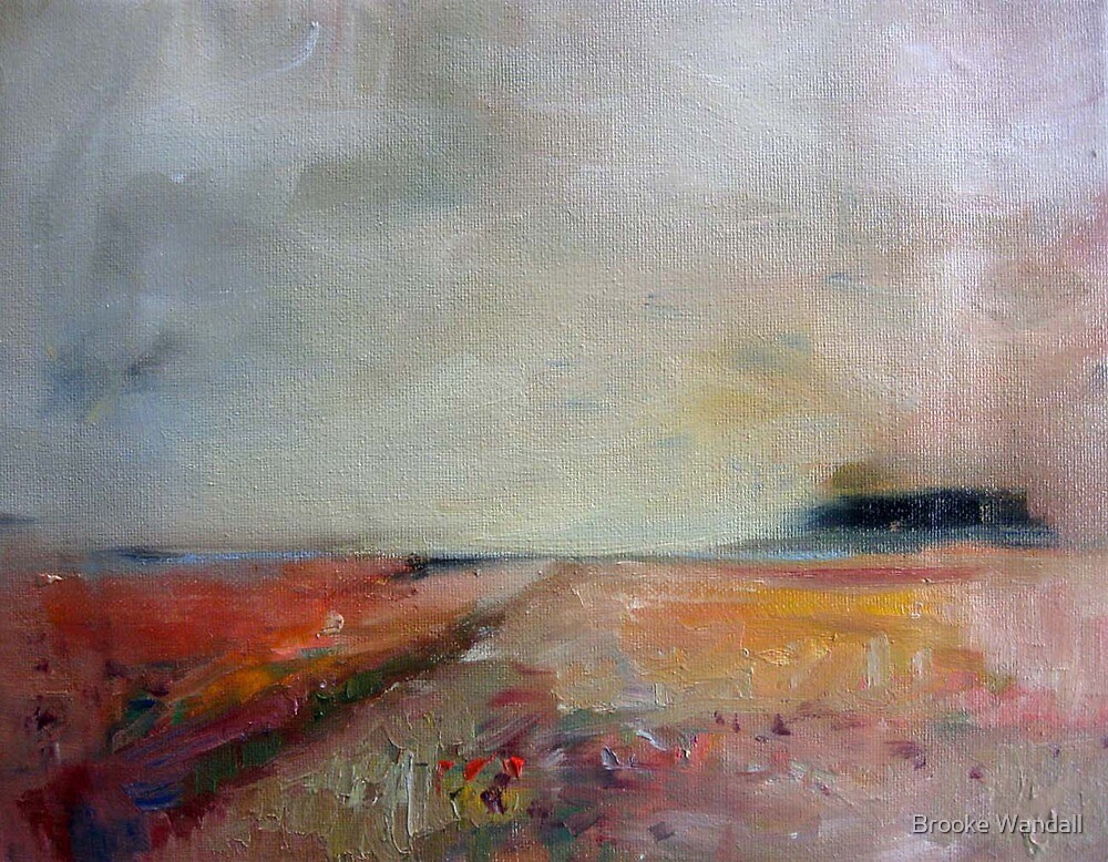 warm landscape by Brooke Wandall