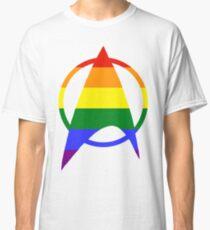 Gay / Queer Starfleet Pride Classic T-Shirt