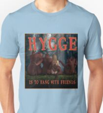 Hygge is to hang with friends Slim Fit T-Shirt