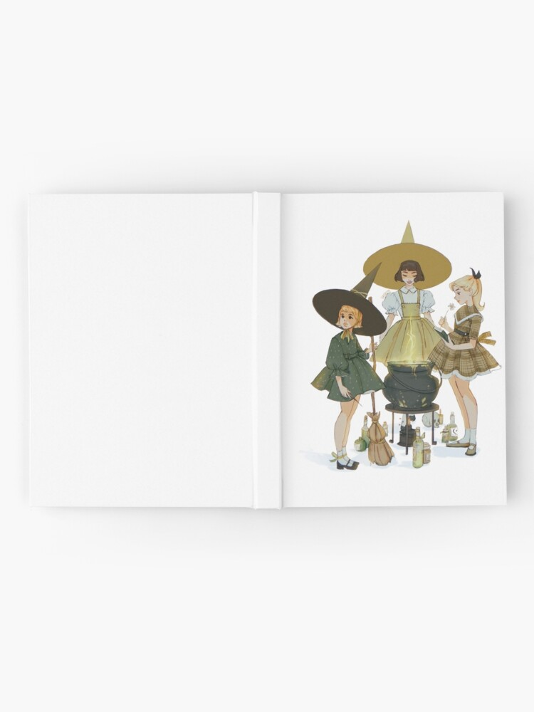 Alternate view of vintage witches ii Hardcover Journal