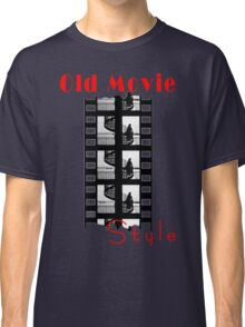 Old Movie Style 1 Classic T-Shirt