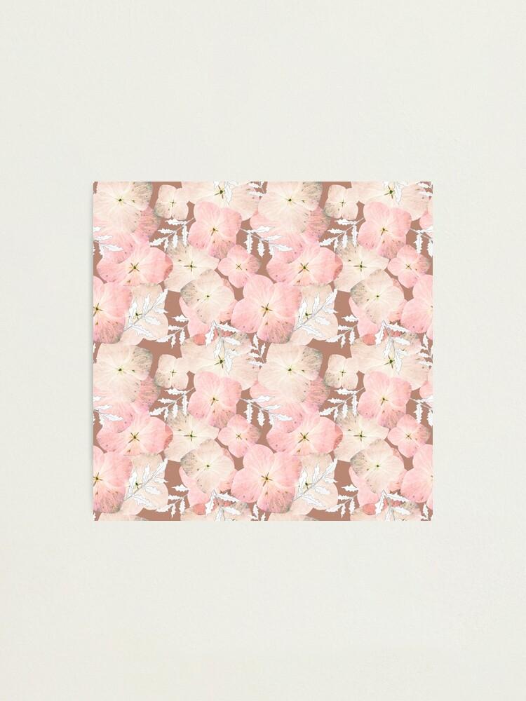 Alternative Ansicht von Hortensie Pastell Fotodruck