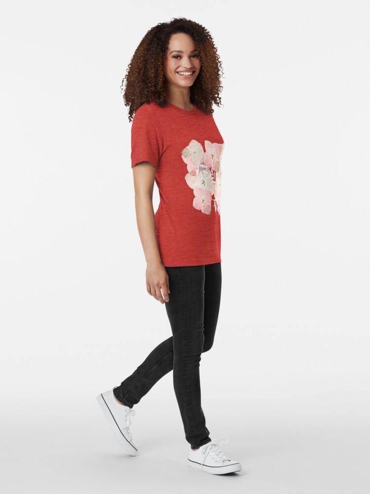 Alternative Ansicht von Hortensie Pastell Vintage T-Shirt