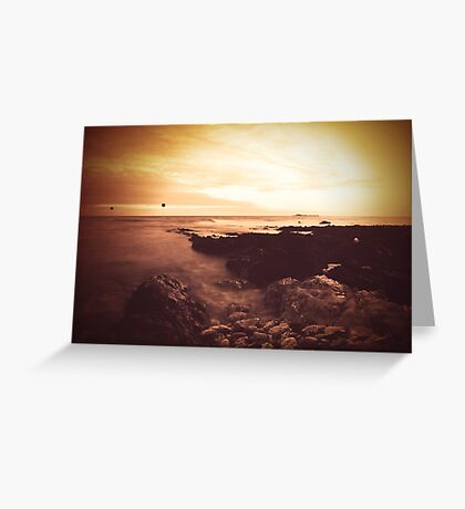I hold the world but as the world, Gratiano Greeting Card
