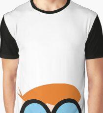 Camiseta gráfica Dexter, científico, personaje genio en Dexters Laboratory, serie en Cartoon Network