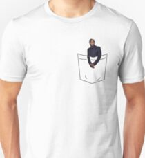 Kevin in a Pocket Unisex T-Shirt