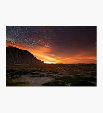Sunset On The Dunes Photographic Print