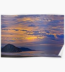 Soft And Beautiful Sunset Poster