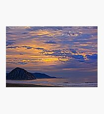 Soft And Beautiful Sunset Photographic Print