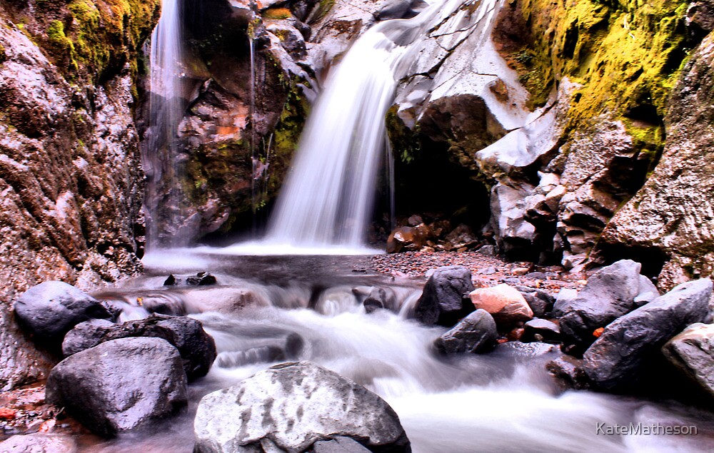 Wilkies pools, New Zealand by KateMatheson
