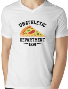 Unathletic Department Mens V-Neck T-Shirt