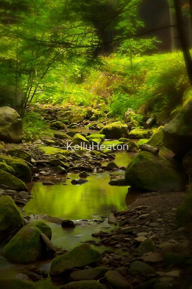 Green Reflection by KellyHeaton