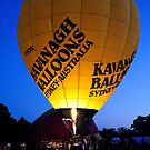 Australia Day - Parramatta Park Hot Air Balloon by Gino Iori