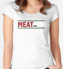 Meat Cute Women's Fitted Scoop T-Shirt