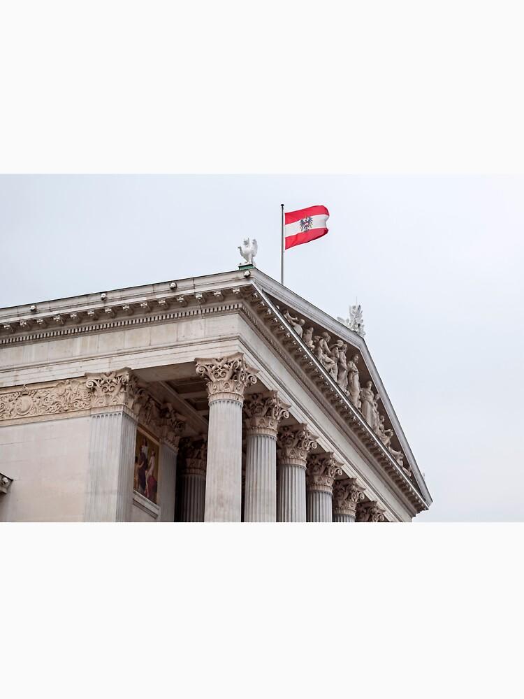 Austrian Parliament. by FER737NG