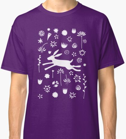 Hare in the Meadow Classic T-Shirt