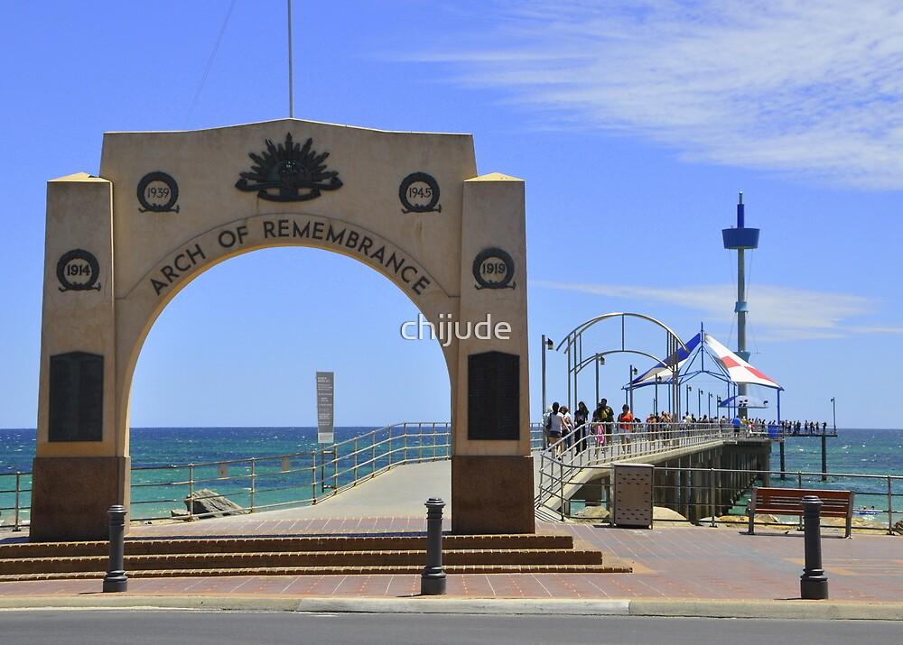 Australia Day  - Brighton Jetty, South Australia by chijude