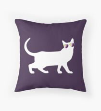Pride Kitty - Nonbinary Pride Rainbow Floor Pillow