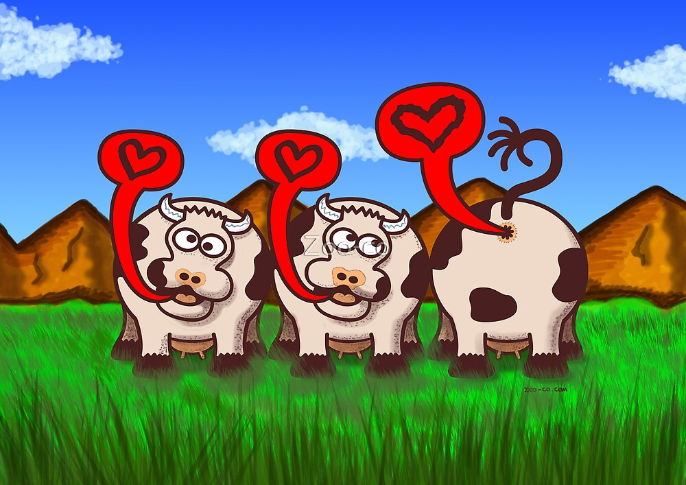 Loving Cows by Zoo-co