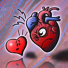 Heart vs Heart by Zoo-co