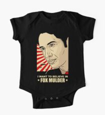 FOX MULDER BELIEVE Kids Clothes