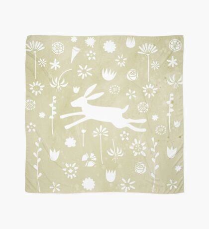 Hare in the Meadow Scarf
