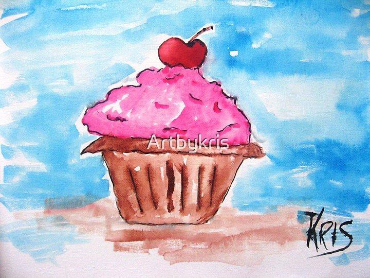 Cup Cake by Artbykris