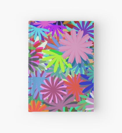 Meadow of Colorful Daisies Hardcover Journal