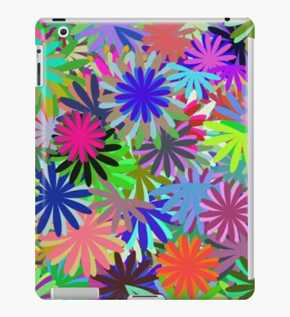 Meadow of Colorful Daisies iPad Case/Skin