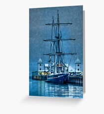 Young Endeavour - Corio bay Greeting Card