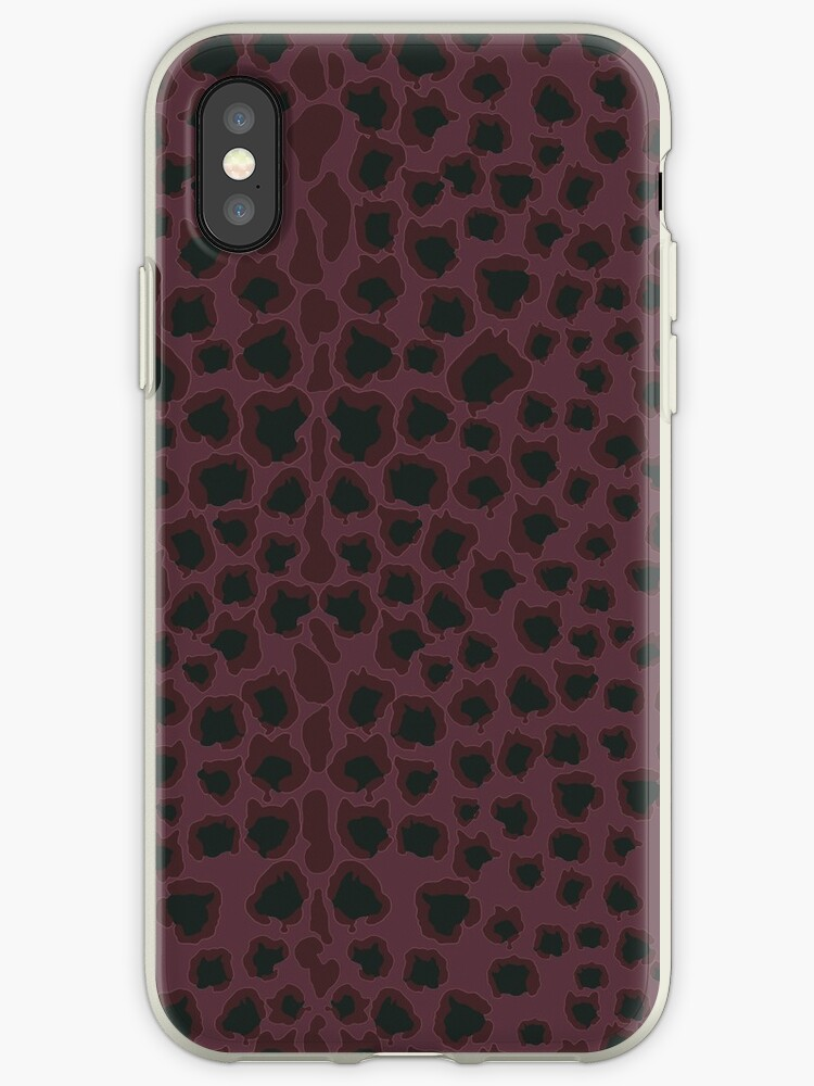 Strawberry Black Panther (Cats Head Leopard Print) by katecrashed