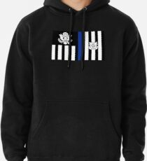 Coast Guard Thin Blue Line Ensign Pullover Hoodie