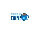 «Powered by coffee in blue» de jazzydevil