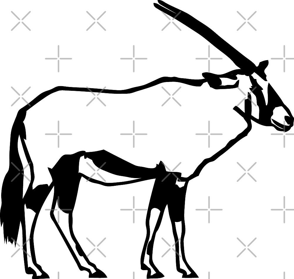 Oryx Antelope by Port-Stevens