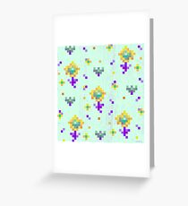 Pixel Greeting Card