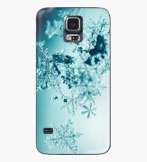 Snowflakes Case/Skin for Samsung Galaxy